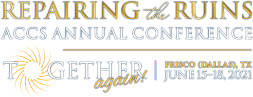 ACCS 2021 Repairing the Ruins Conference Logo